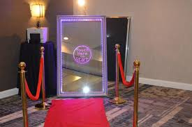 diy party whole magic photobooth smart touch screen mirror photo booth