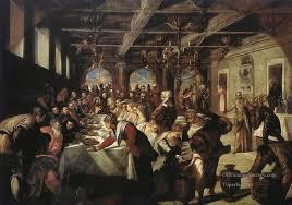 0 marriage at cana italian renaissance tintoretto