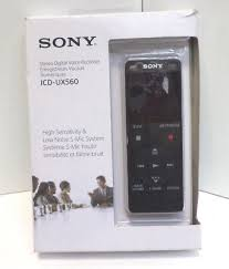 sony icdux560blk. sony icdux560blk stereo digital voice recorder with usb icdux560blk e