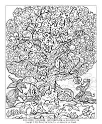 Small Picture Tree Of Life Coloring Pages Throughout itgodme