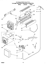 whirlpool model ed25rfxfw01 side by side refrigerator genuine parts wiring schematic for whirlpool refrigerator Wiring Diagram Whirlpool Refrigerator #24
