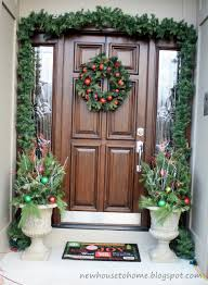 Charming Ideas To Design Beautiful Front Porch : Elegant Front Porch Design  With Christmas Front Porch