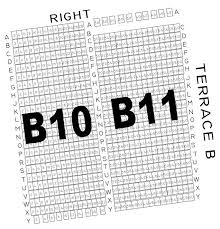 The Muny St Louis Mo Seating Chart Section B10 B11 The Muny