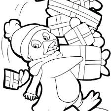 Cartoon Penguin Printable Coloring Pages Penguin Coloring Page