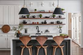 The gbtroo wall decor complements your walls and is ideal for storing kitchen utensils if you remove the flowers. Kitchen And Living Room Design Modern Kitchen Atlanta By Tunde Decor Llc Houzz