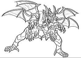 Bakugan Coloring Book Pages Coloring Pages