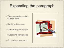the essay part ii from paragraph to essay expanding the 2 expanding