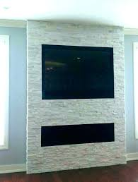 installing tv into stone fireplace how to mount on brick with hang wall firep mounting tv on uneven stone fireplace