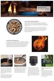 Flame Genie 13 5 In Wood Pellet Fire Pit Fg 16 Backyard Firepit Black New 20729370185 Ebay