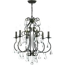 oil rubbed bronze lighting collections 6 light chandelier collection portfolio new century s nj