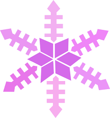 purple snowflake border. Brilliant Border Purple Snowflake Border Clipart 1 Inside