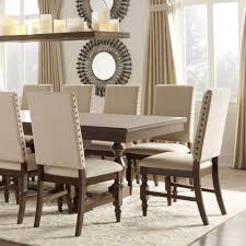 upolstered dining chairs. Flatiron Nailhead Upholstered Dining Chairs (Set Of 2) By INSPIRE Q Classic Upolstered D