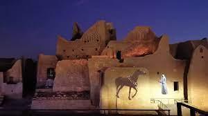 قصر طريف الدرعية التاريخية حي البجيري - YouTube