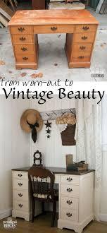 diy furniture makeover ideas. Vintage Desk Makeover By Teen Boy Diy Furniture Ideas E