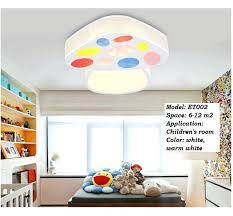 kids room ceiling lighting. Kids Room Light Fixture Modern Ceiling Bedroom Led Mushroom Lamp Design . Lighting