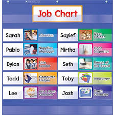 Preschool Classroom Job Chart Printables Preschool Job Chart Amazon Com
