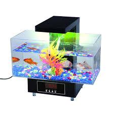 premier desktop aquarium by global care market complete gift set for office or home office desk aquarium