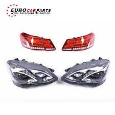 Euro Car Parts Brake Light Bulbs Us 450 0 E Class W212 Headlamps Taillight For E200 E260l E300l E320l E63 Led Head Lights Tailamp In Body Kits From Automobiles Motorcycles On