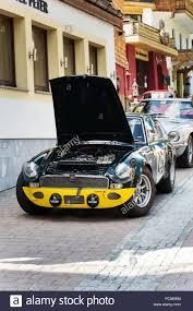Mgc Design Saalbach Hinterglemm Austria June 21 2018 Vintage Car Mg