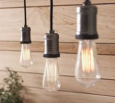 Track lighting pendants Living Room These Exposedbulb Track Lighting Pendants Suspended From Cloth Cords Are Warm And Elegant Over Tables And Workspaces Set Of Two Pendants 199 Pinterest Go Naked These Exposedbulb Track Lighting Pendants Suspended From