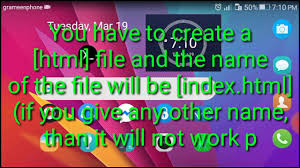 Create a HTML page in 127.0.0.1 | Using Termux - YouTube