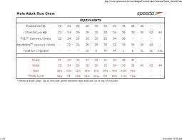 Speedo Size Conversion Chart Unique Speedo Size Chart Michaelkorsph Me