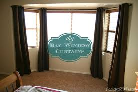 bay window curtain rod uk