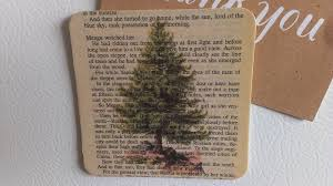 diy book page art magnet with graphics using a printer