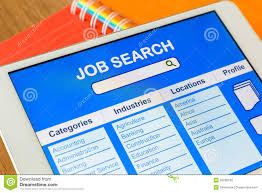 digital tablet pc showing user interface of online job search digital tablet pc showing user interface of online job search