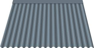 corrugated metal roof and wall panels