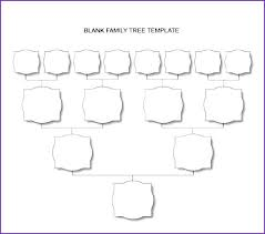 Family Tree Chart Blank Unique Examples Template Sample Pedigree ...