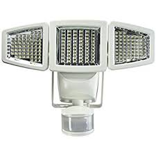 IMounTEK LED Outdoor Security Floodlight With Light Sensor And Solar Security Flood Light