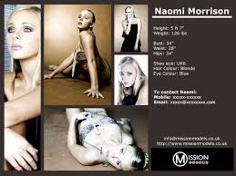 What Is A Comp Card Examples Of Model Comp Cards What Is A Zed Or Comp Card Modeling