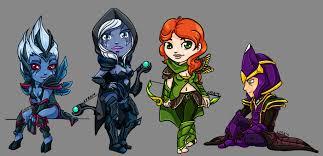 dota 2 mini characters by halmtier on deviantart