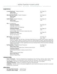 production designer resumes production designer resume foodcity me