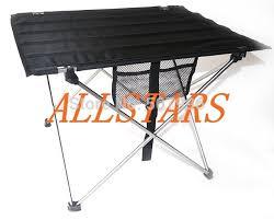 Ultra Light Aluminium Alloy Portable Foldable Folding Table Desk For