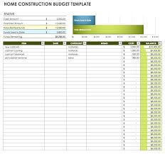 Commercial Construction Budget Template Construction Budget Excel Template Building For Commercial