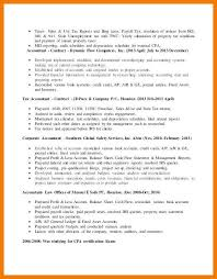 Tax Accountant Resume Cool 4848 Resume For Tax Accountant 48l48code