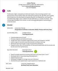 Cv For Teaching 10 Teaching Curriculum Vitae Templates Pdf Doc Free Premium