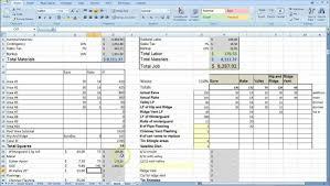 Project Estimate Template Excel Plumbing Estimating Spreadsheet Excel Estimate Template