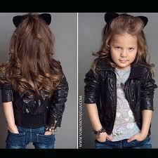 toddler girl leather jackets jacket red