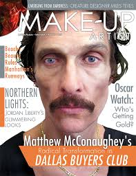 make up artist magazine issue 105 character cover available at