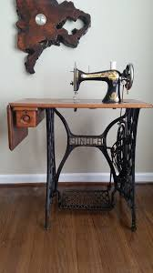Antique Singer Sphinx Treadle Sewing Machine