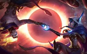 Wallpaper 4k Cosmic Dusk Xayah and ...