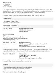 cv example for any job service resume cv example for any job makeyourcv how to make a cv cv example example cv resume