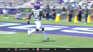 Return On Espn 73 Scores Tcu Punt Video yard CFnwSg7q