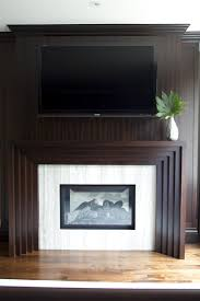 Railroad Tie Mantle 20 natureloving fireplace ideas 2116 by xevi.us