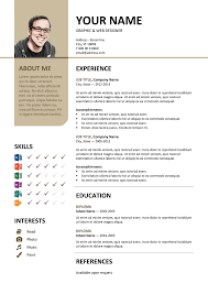 Classic Resume Template Word Cool Bayview Free Resume Template Microsoft Word Brown Layout Classic