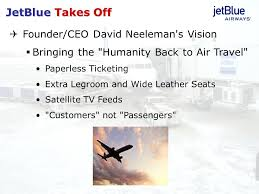 jet blue case analysis   Low Cost Carrier   Airlines