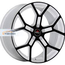 Литые диски Yokatta MODEL-19 W+B <b>7x17</b>/<b>5x112</b> ЕТ43 <b>D66</b>,<b>6</b> ...